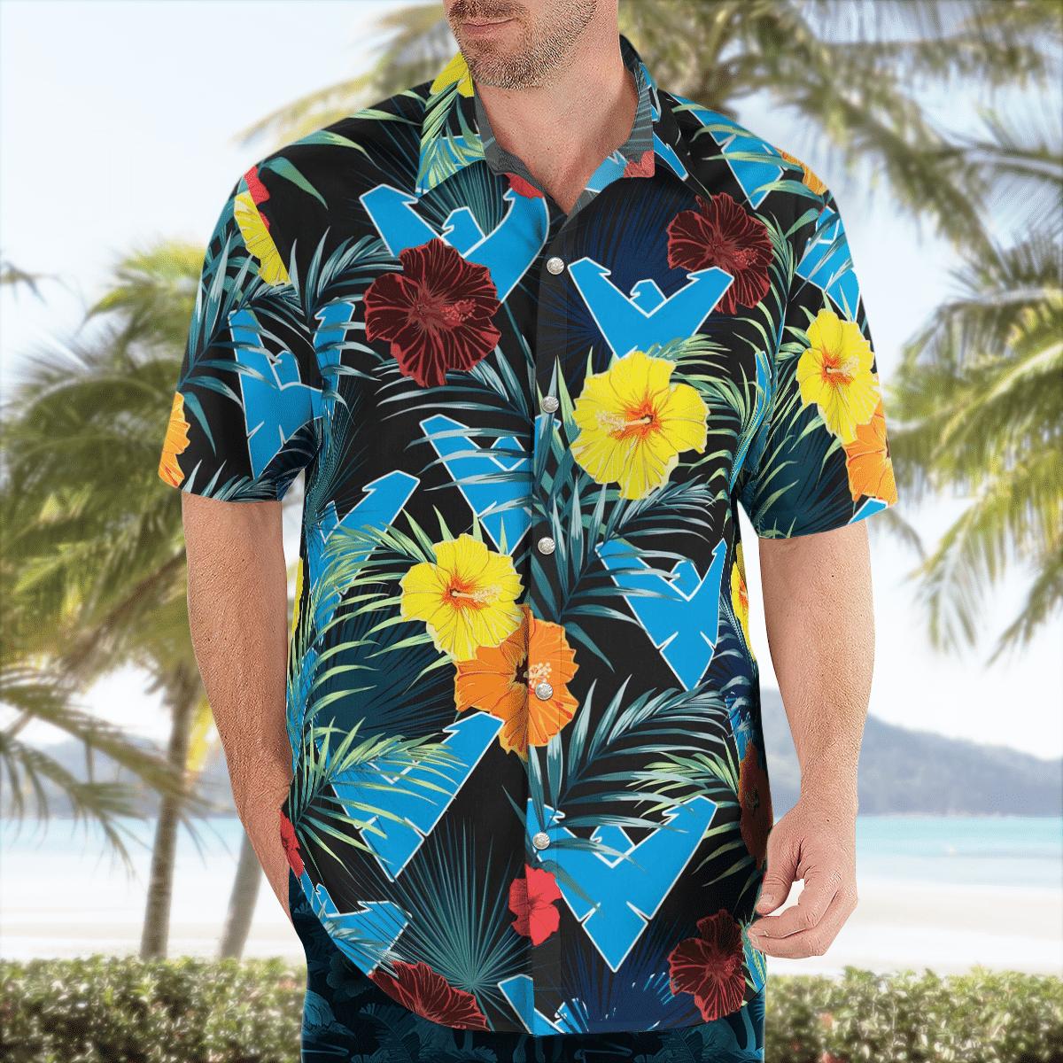 Batman Dick Grayson Hawaiian Shirt