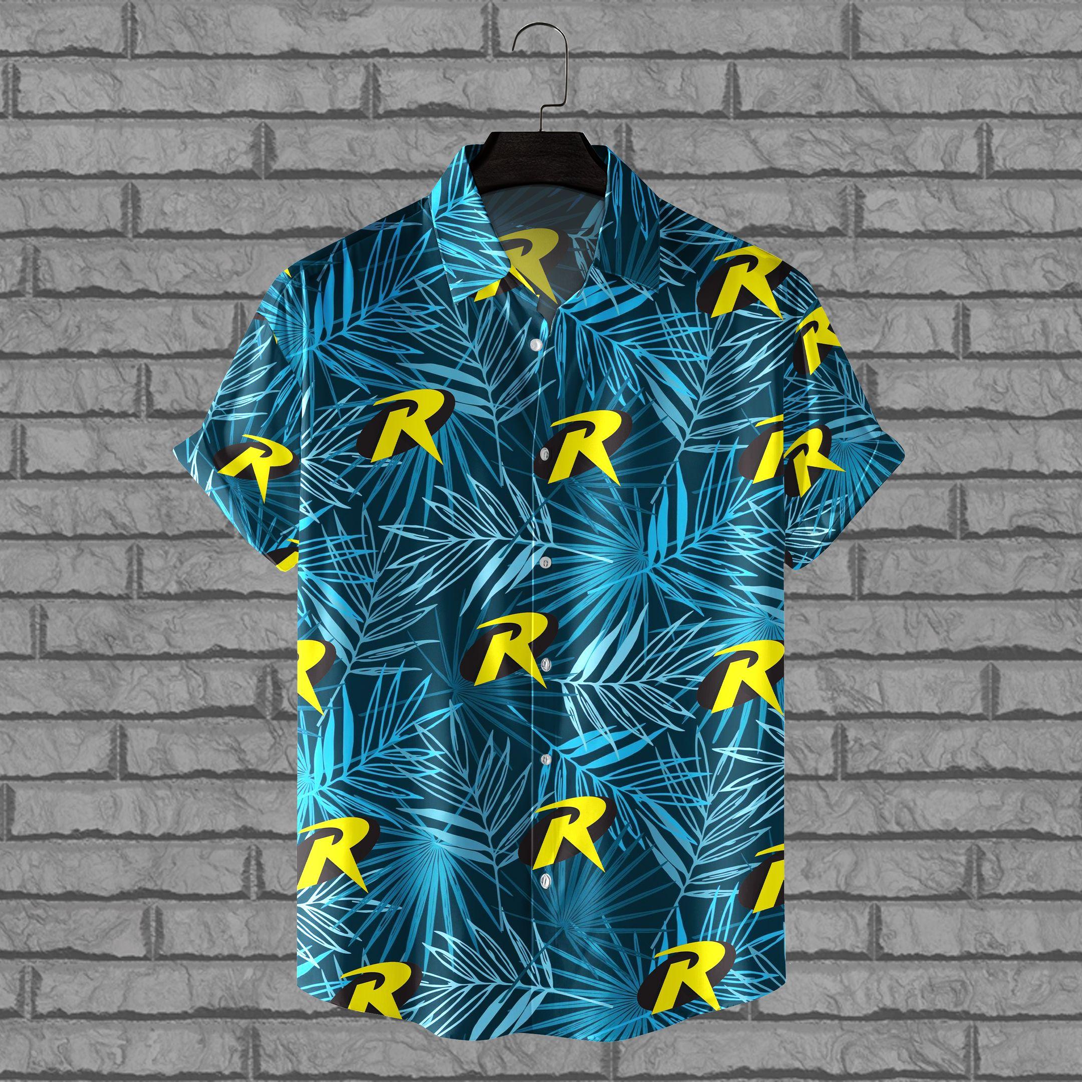 Robin Logo Batman Hawaiian Shirt