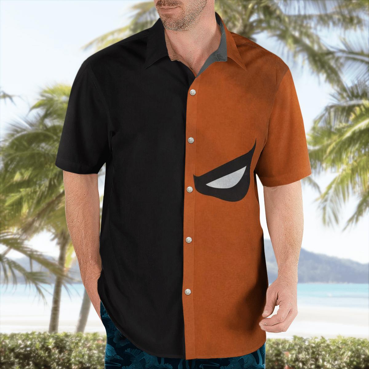 Batman Deathstroke Hawaiian Shirt
