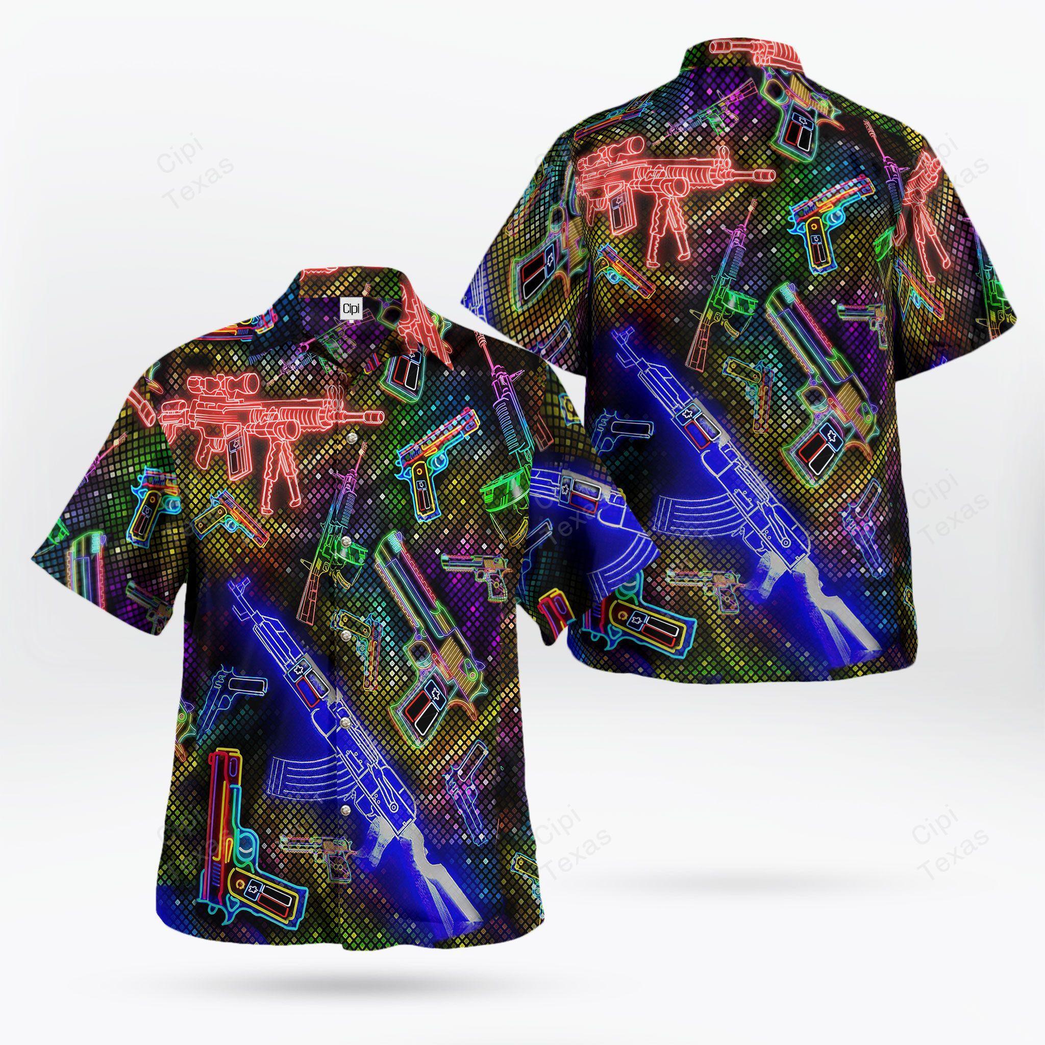 American gun A Thing You Would Not Understand Hawaiian Shirt