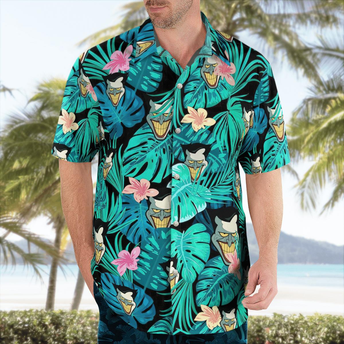 Classic Joker Hawaiian Shirt Batman