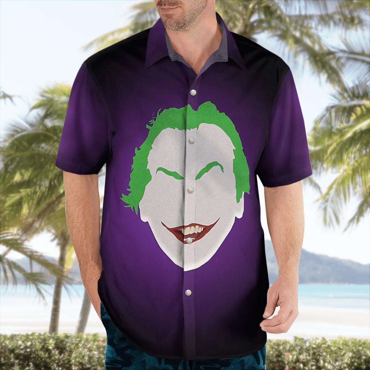 Dark Knight Joker Hawaiian Shirt