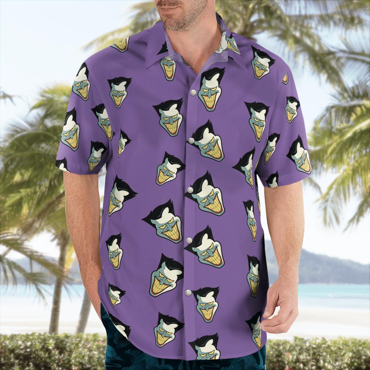 Classic Joker Face Hawaiian Shirt
