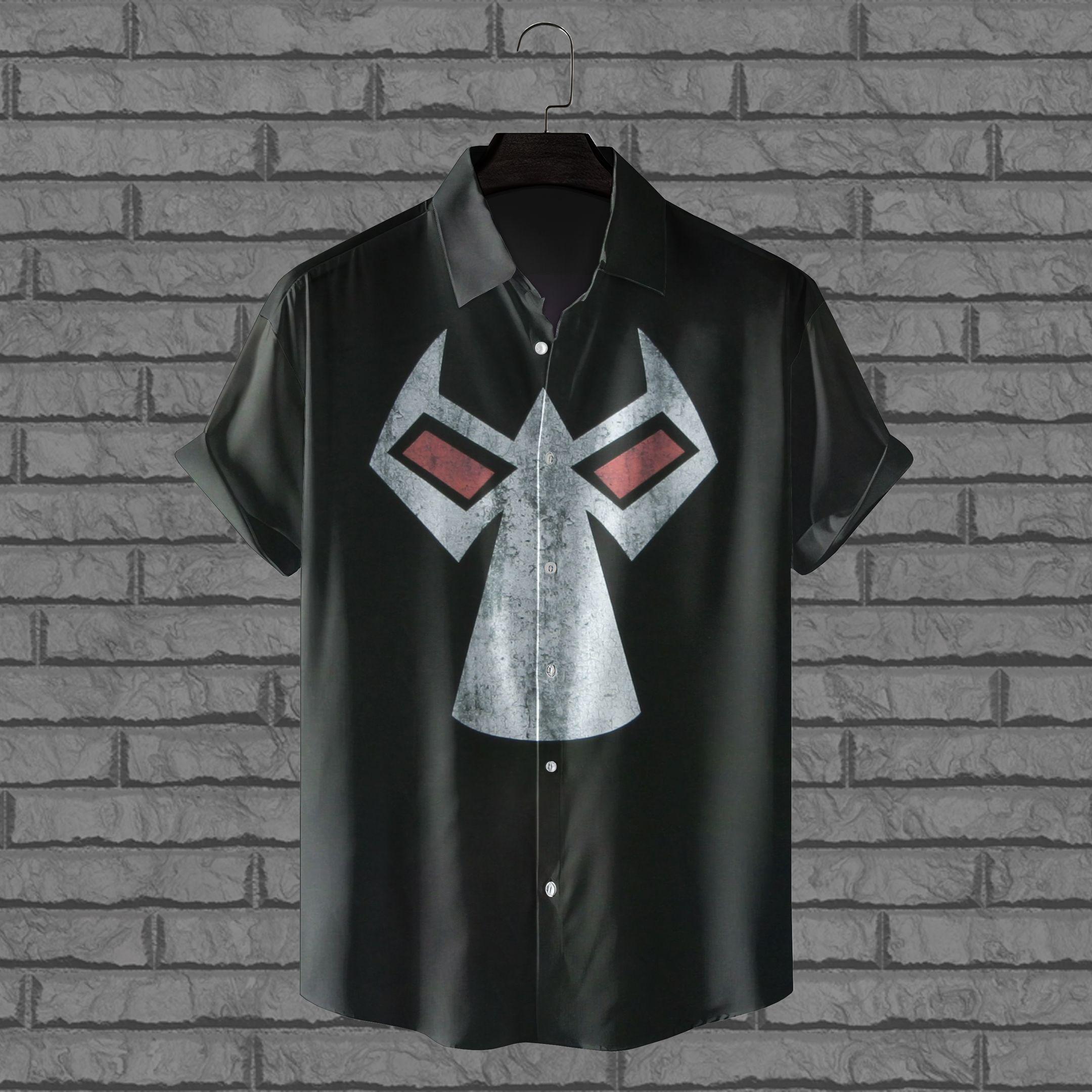 Bane Mask Hawaiian Shirt Batman