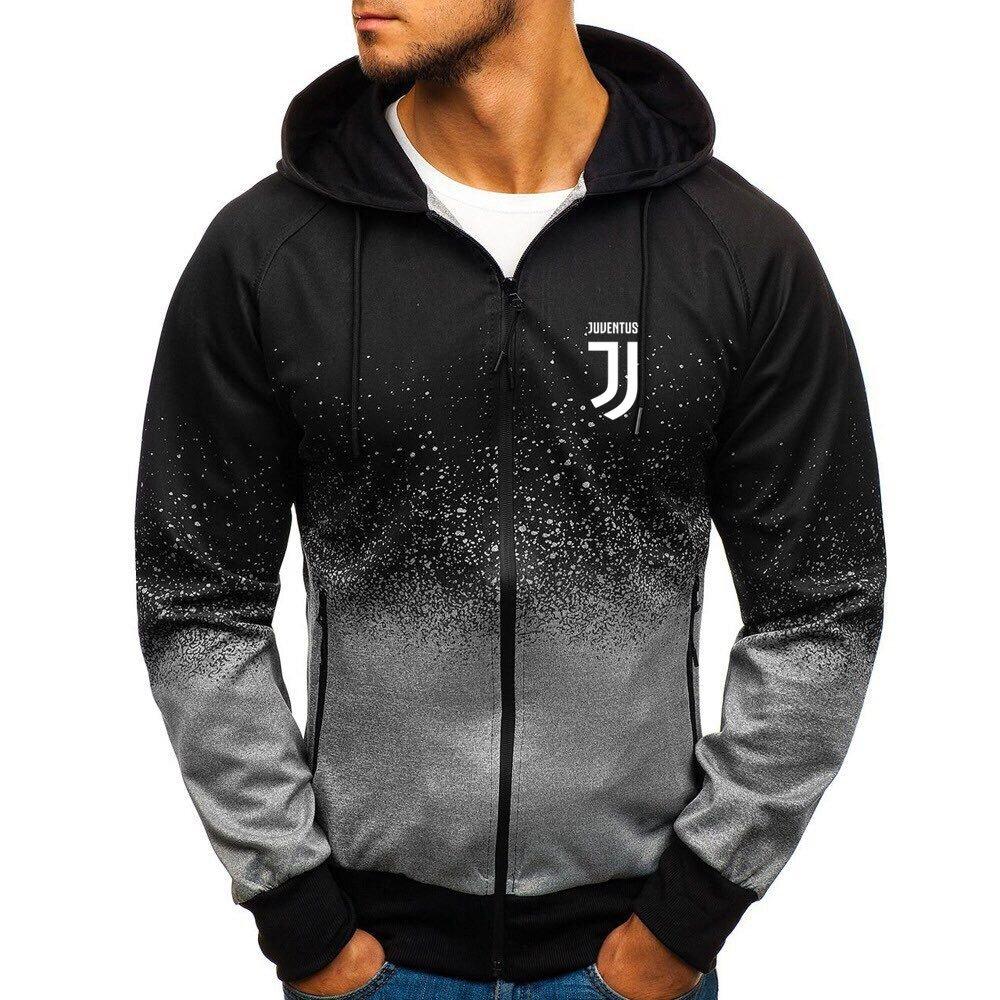 Juventus JFC gradient zip hoodie