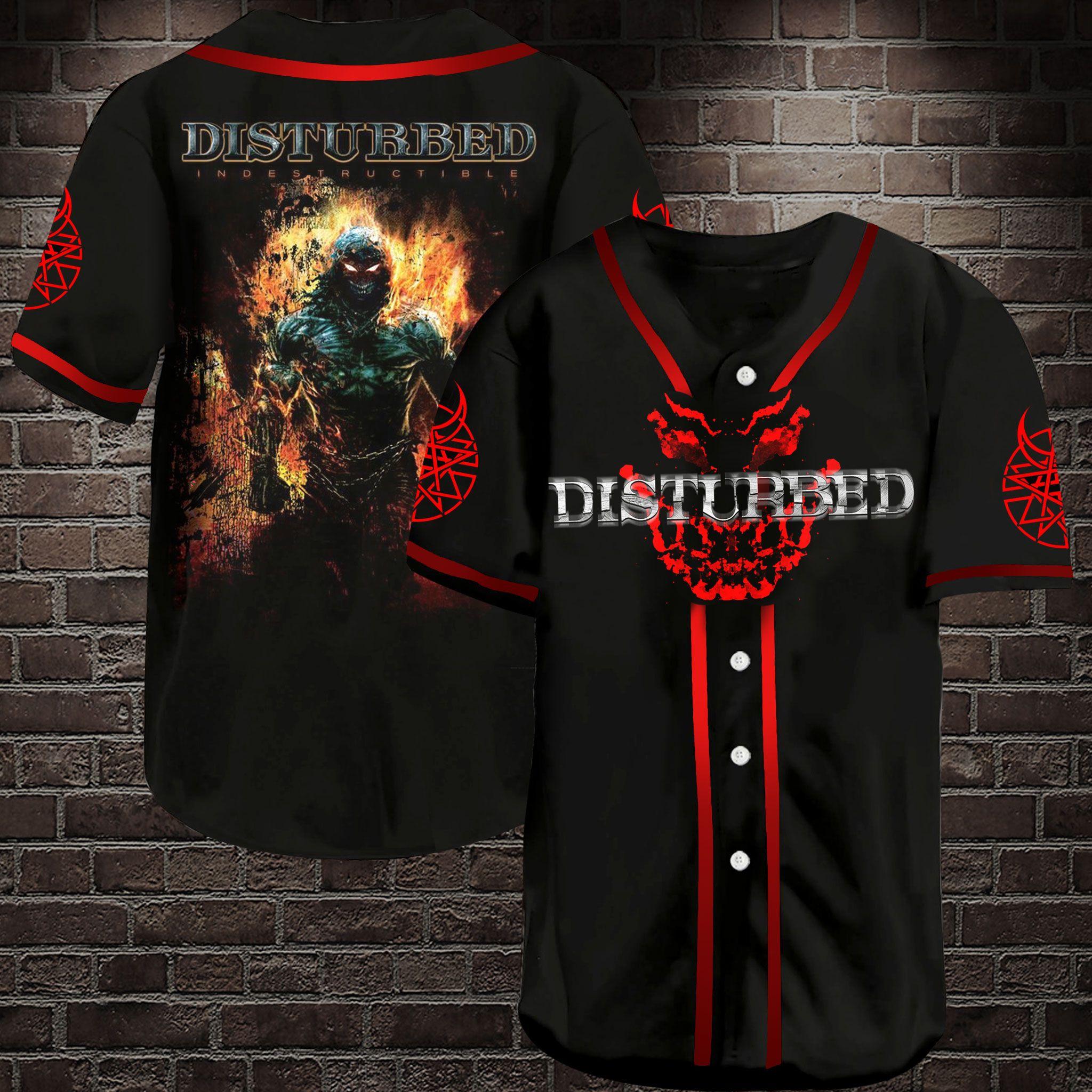 Disturbed Asylum Baseball Jersey Shirt