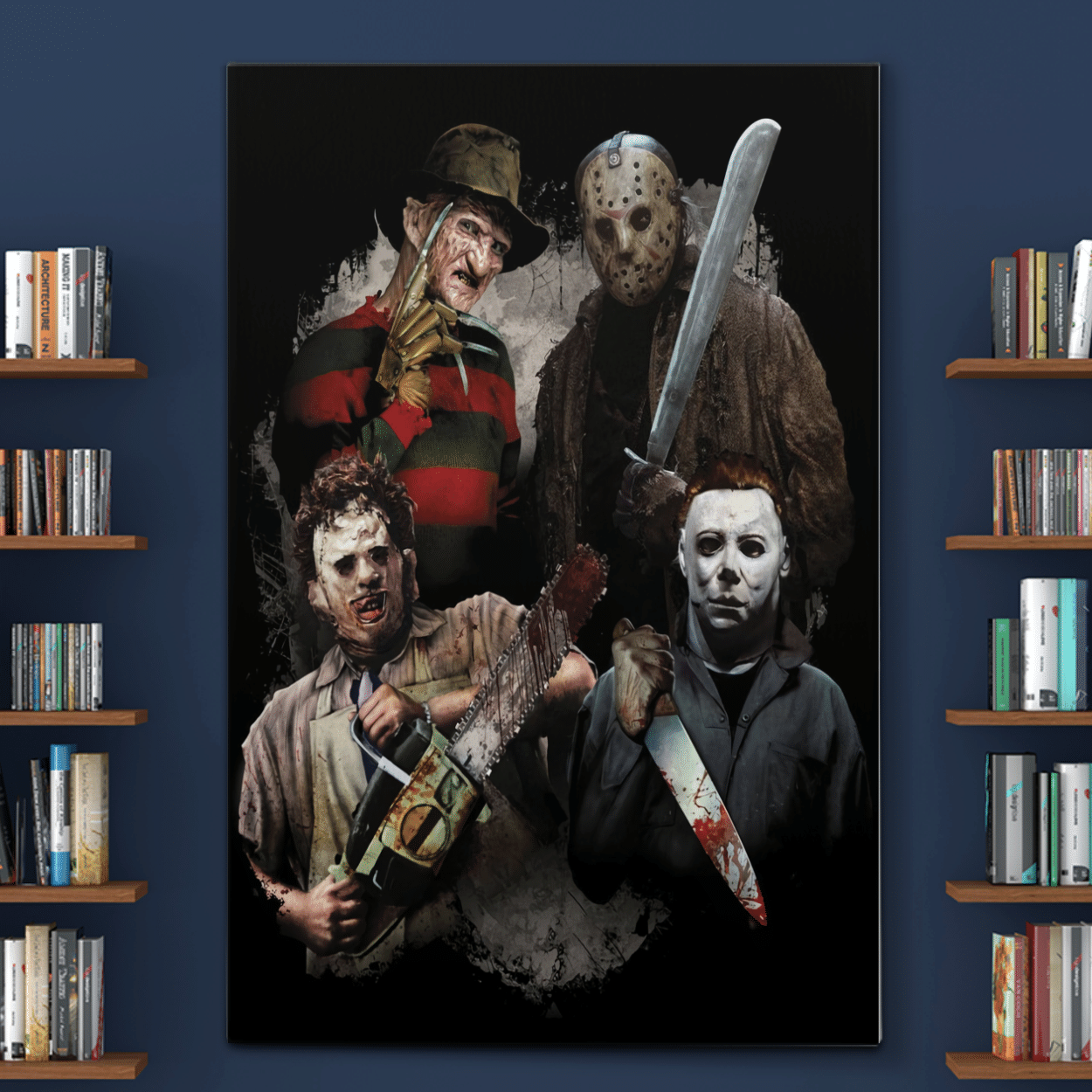 FOUR POPULAR KILLER COLLECTION POSTER