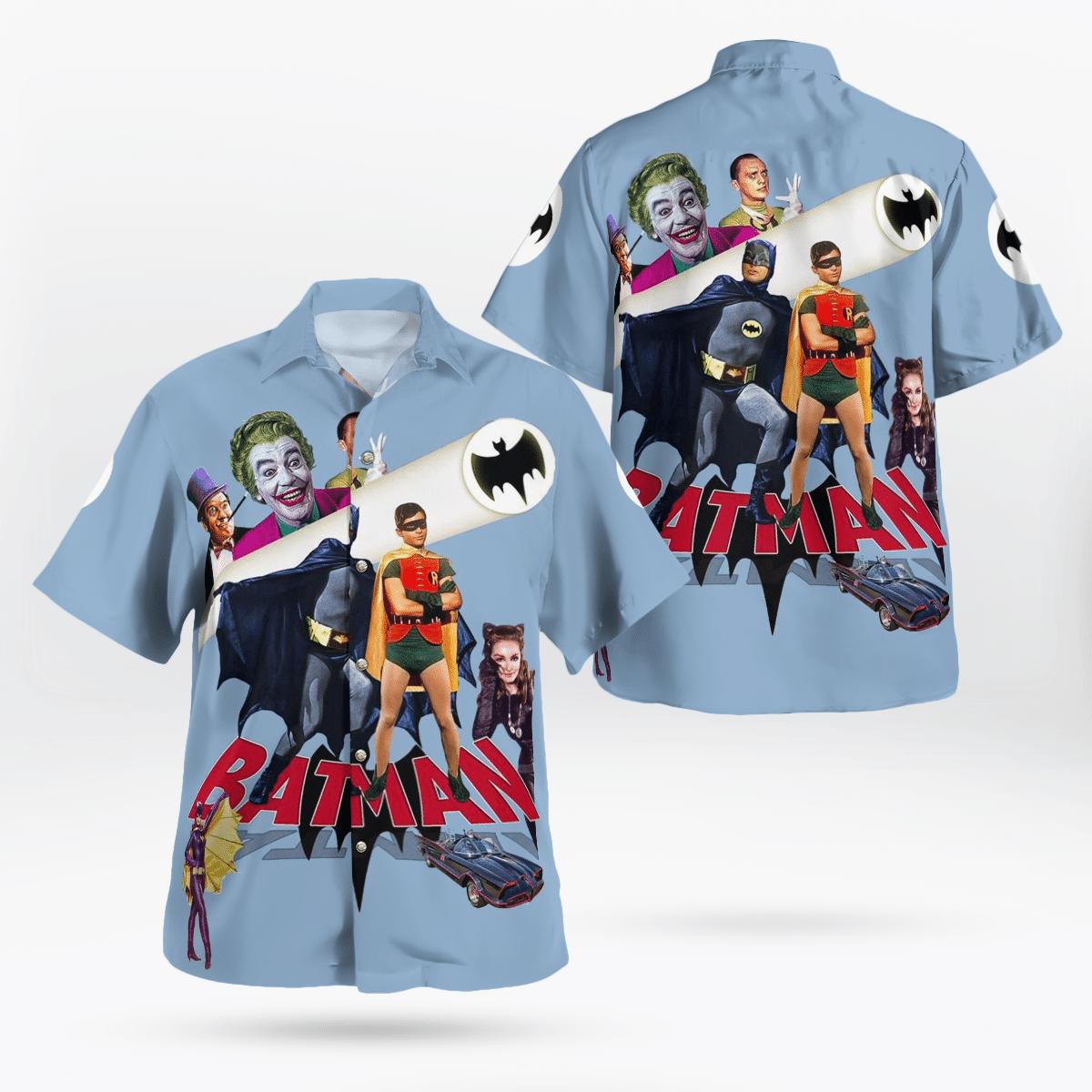 Batman Movie 1966 Hawaiian Shirt