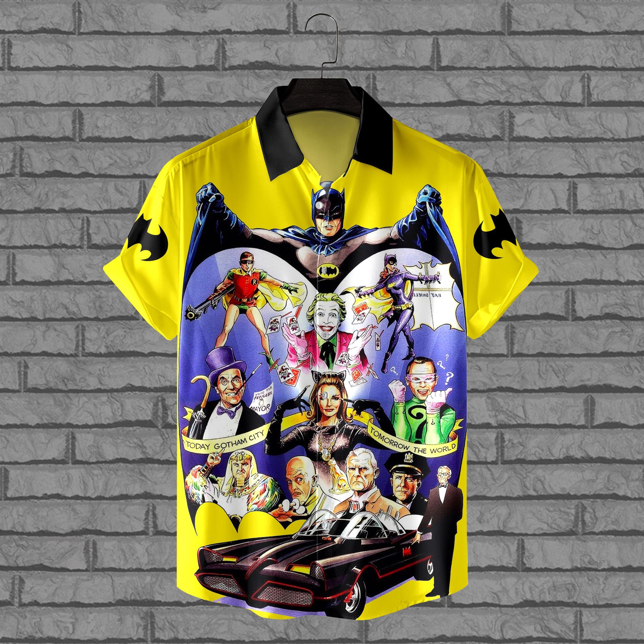 Batman Characters Hawaiian Shirt
