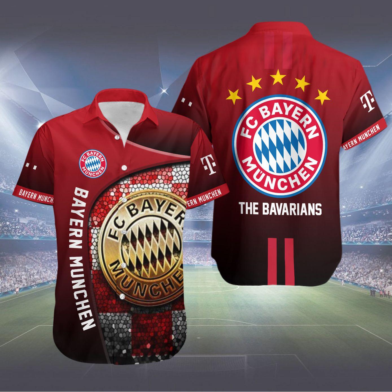 FC Bayern Muchen The Bavarians Hawaiian Shirt