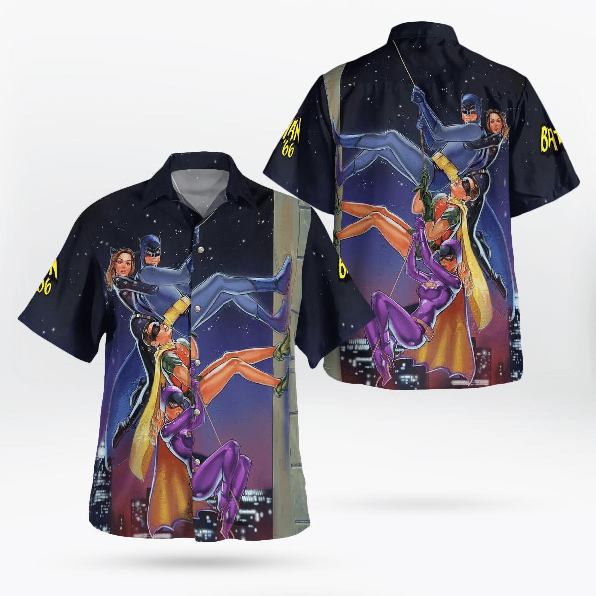 Batman 1966 Heroes Hawaiian Shirt