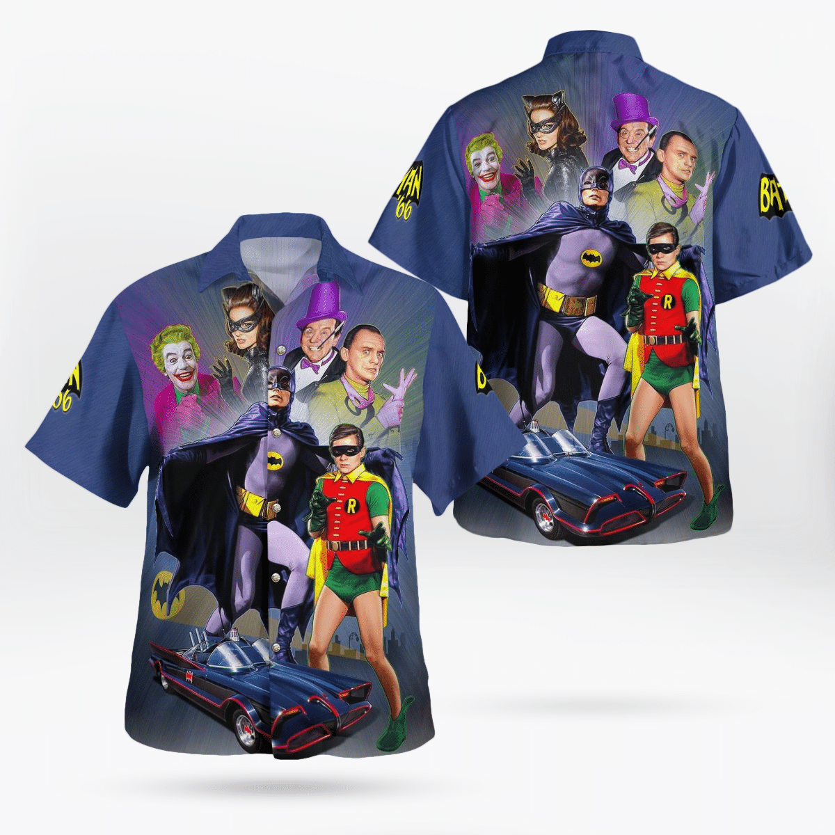 Batman 66 V1 Hawaiian Shirt