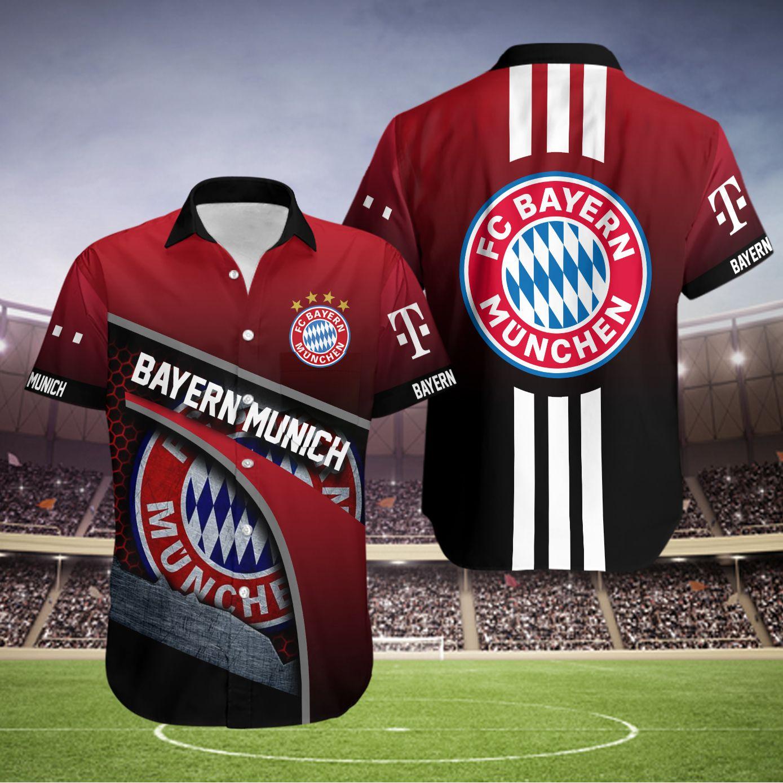 FC Bayern Munich Hawaiian Shirt