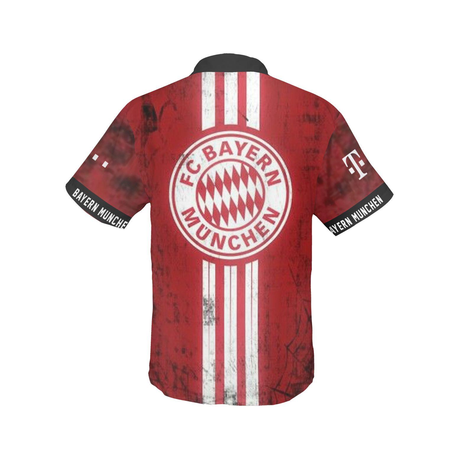 FC Bayern Muchen Hawaiian Shirt