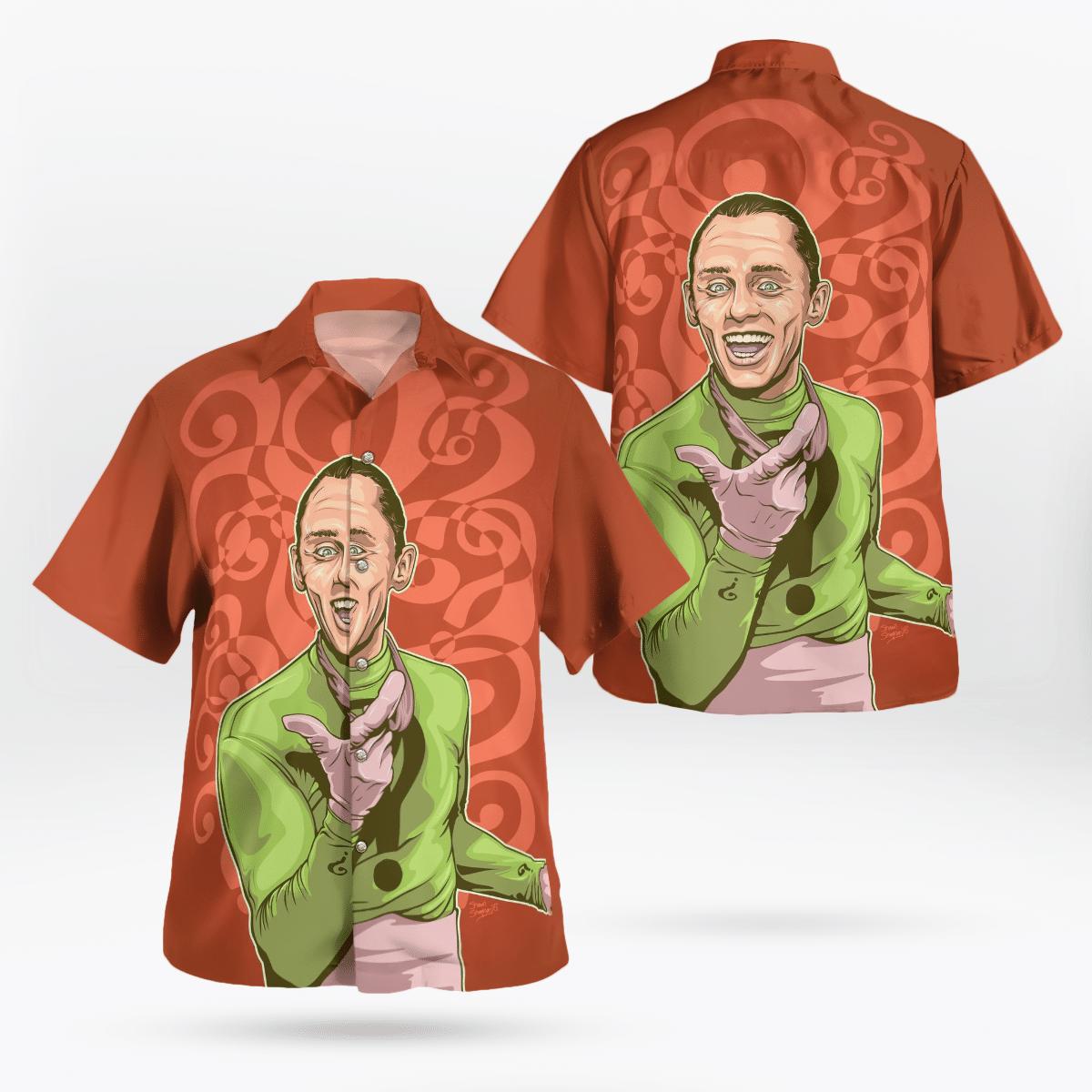 Batman The Riddler Hawaiian Shirt