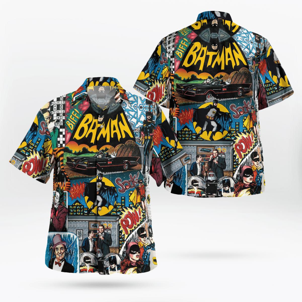 Batman Screen Collections Hawaiian Shirt