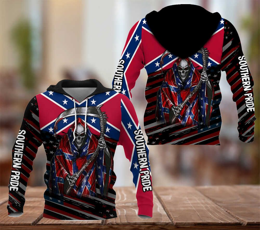 Southern Pride Death with the scythe hoodie 3D