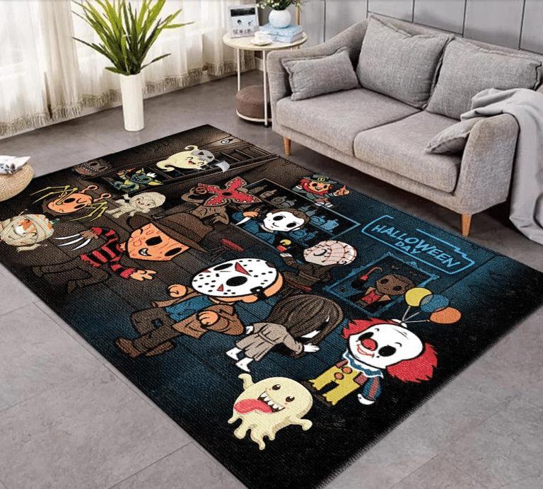 Murderer Baby Cute Version Halloween Day Carpet Rug