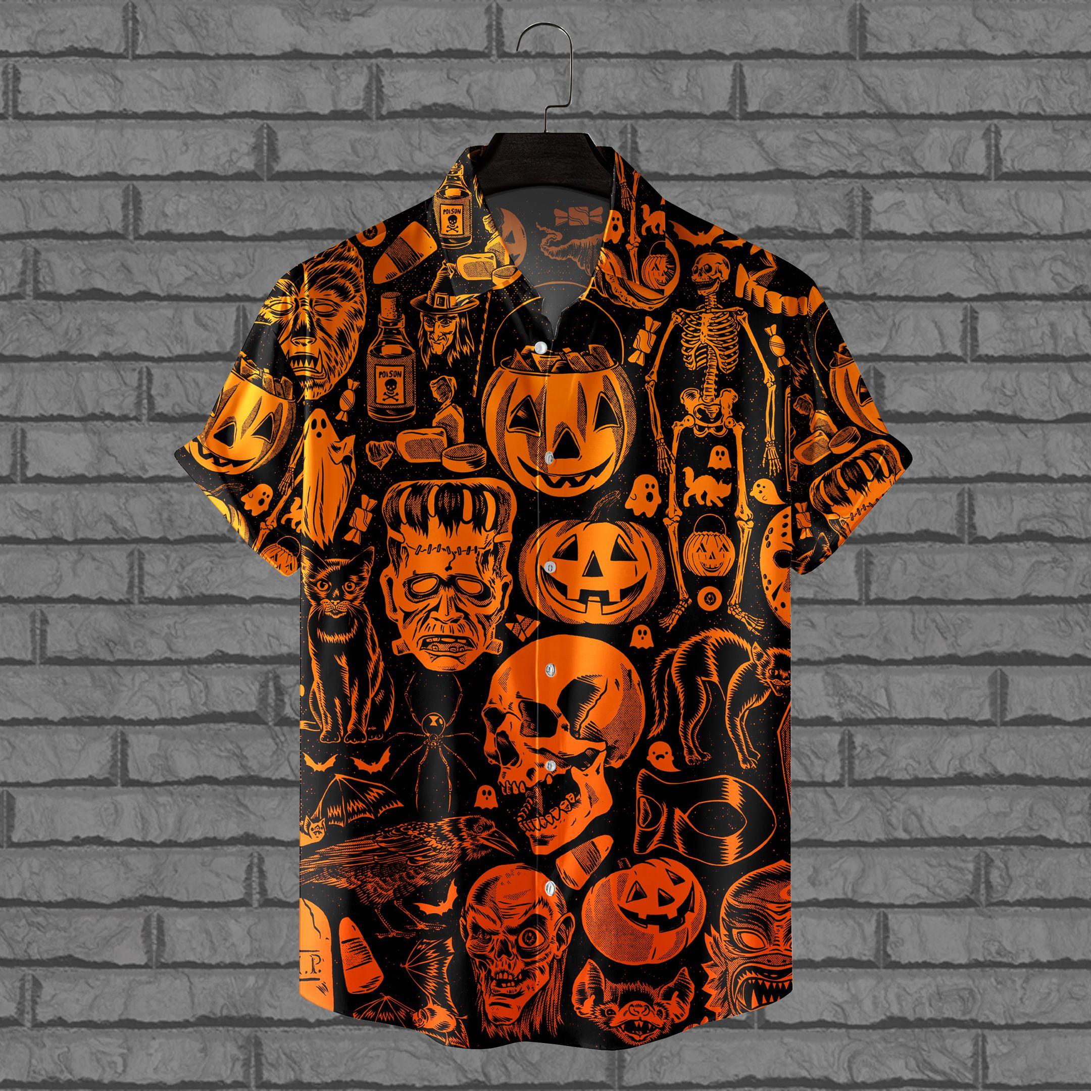 Halloween Night Hawaiian Shirt