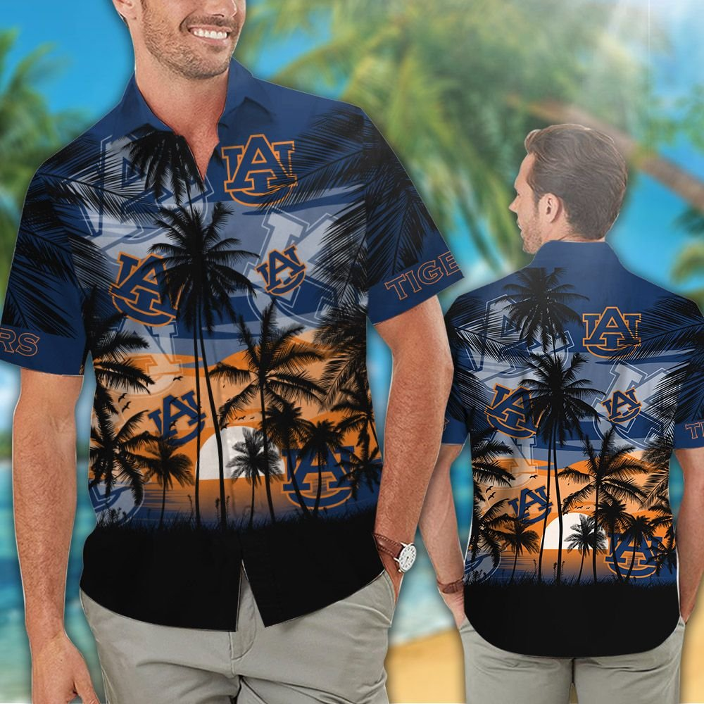 NCAA Tropical Hawaiian Men and Women Outfit