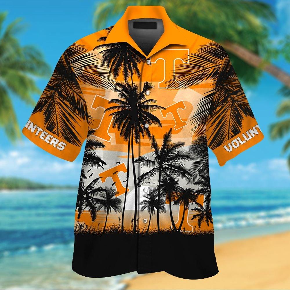NCAA Tennessee Volunteers Tropical Hawaiian Shirt Men Women Shorts