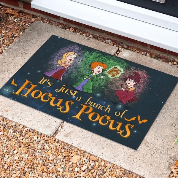 It's Just A Bunch Of Hocus Halloween Doormat