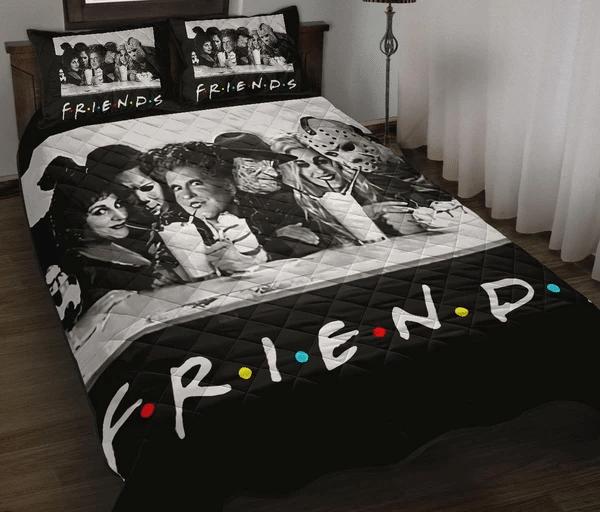 Friend Halloween Horror Movie Quilt Bed Set Comforter set