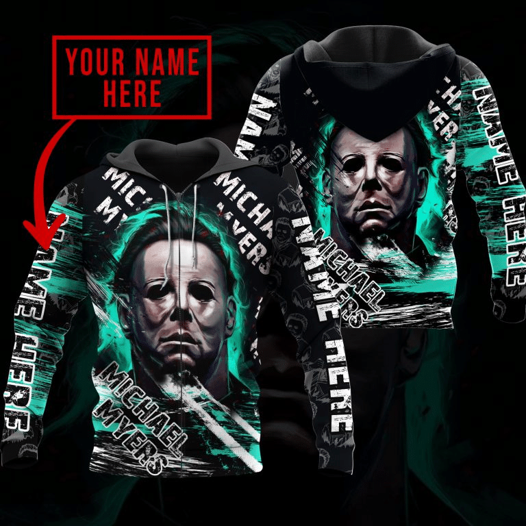 Micheal Myers Horror Movie Hoodie 3d