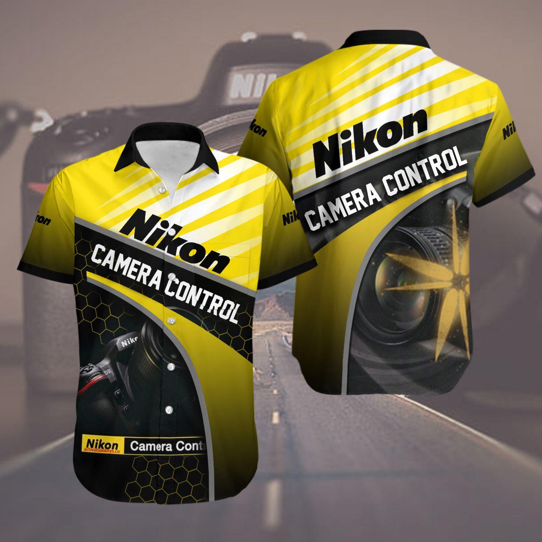 Nikon Camera Control Hawaiian Shirt