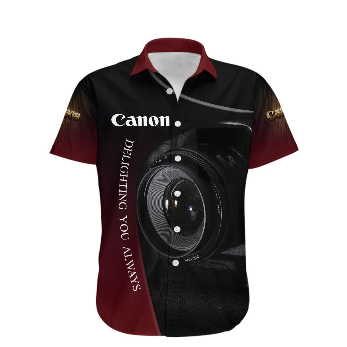 Canon delighting you always Hawaiian Shirt