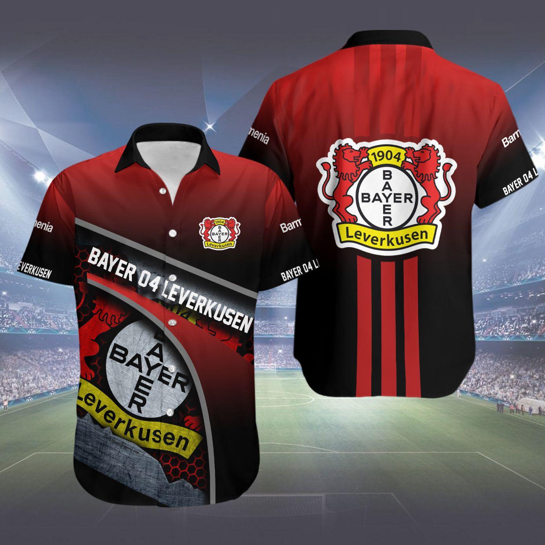 Bayer Leverkusen Hawaiian Shirt Summer Shirt