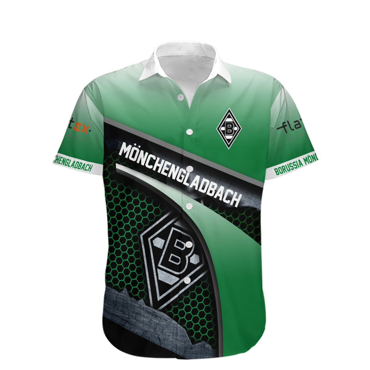 Borussia Monchengladbach Hawaiian Shirt
