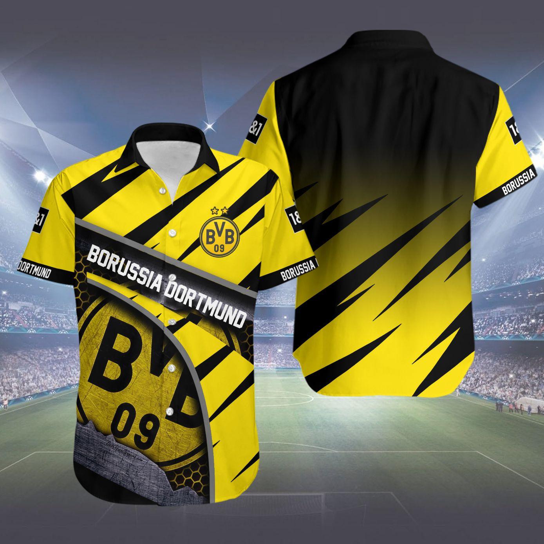 Borussia Dortmund Hawaiian Shirt Summer Shirt