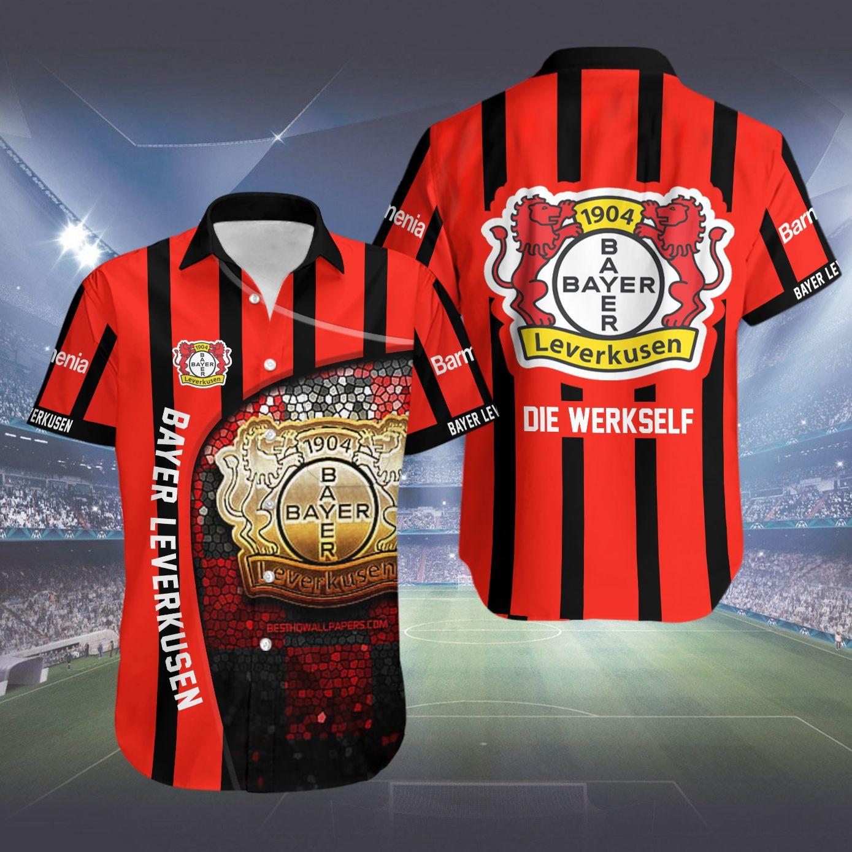 Bayer Leverkusen Die Werkself Hawaiian Shirt