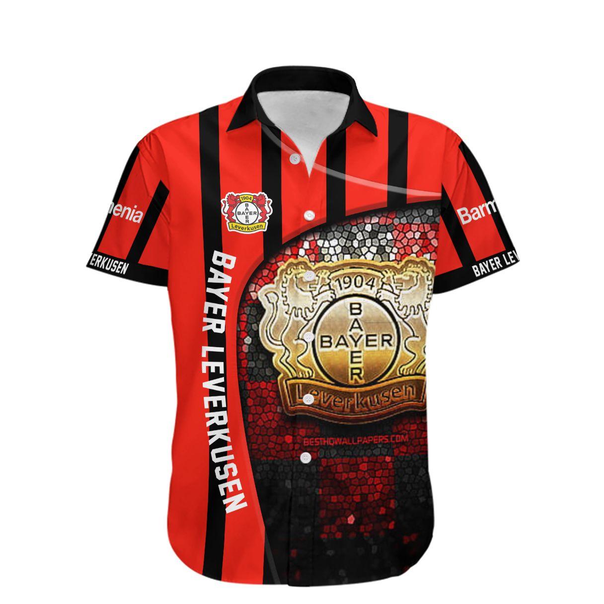 Bayerwerk Leverkusen Die Werkself Hawaiian Shirt