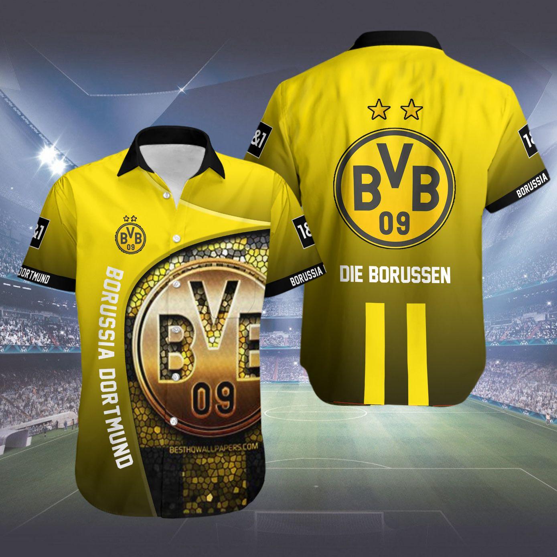 Borussia Dortmund Die Borussen Hawaiian Shirt