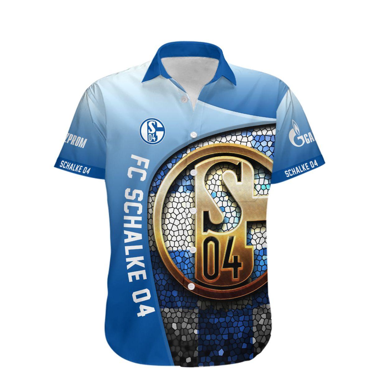 FC Schalke 04 Die Konigsblauen Hawaiian Shirt
