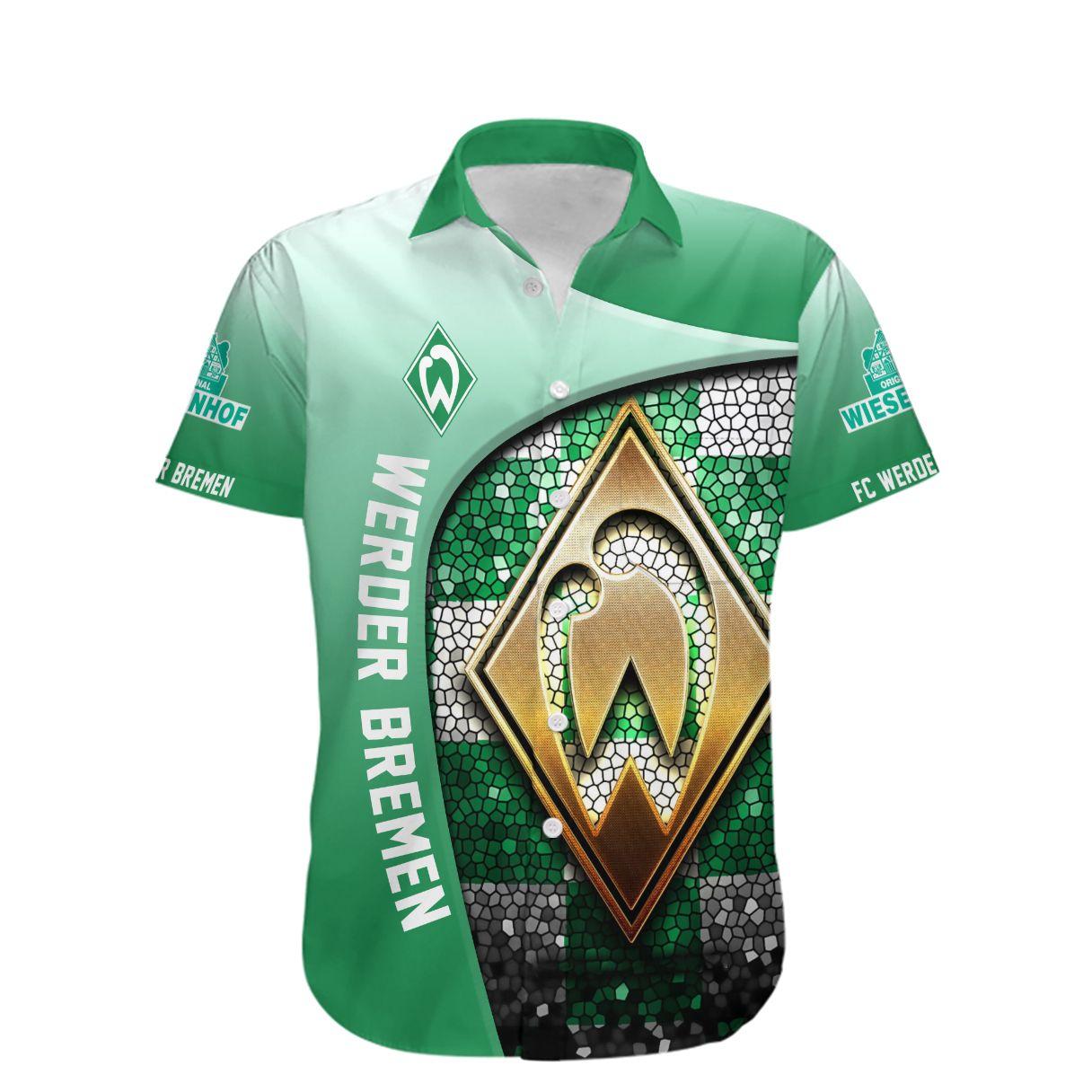 SV Werder Bremen Die Grun Weiben Hawaiian Shirt