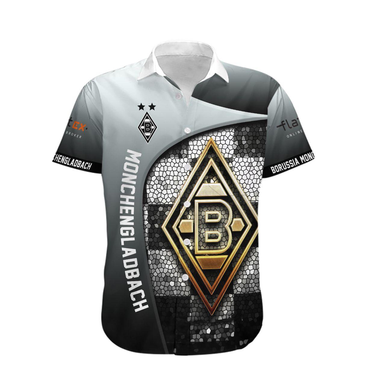 Borussia Monchengladbach Die Fohlen Hawaiian Shirt