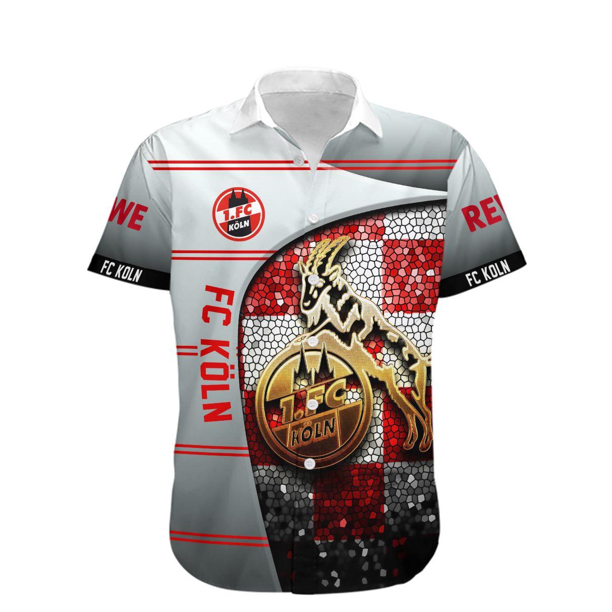 Fc Koln Die Geibbocke Hawaiian Shirt