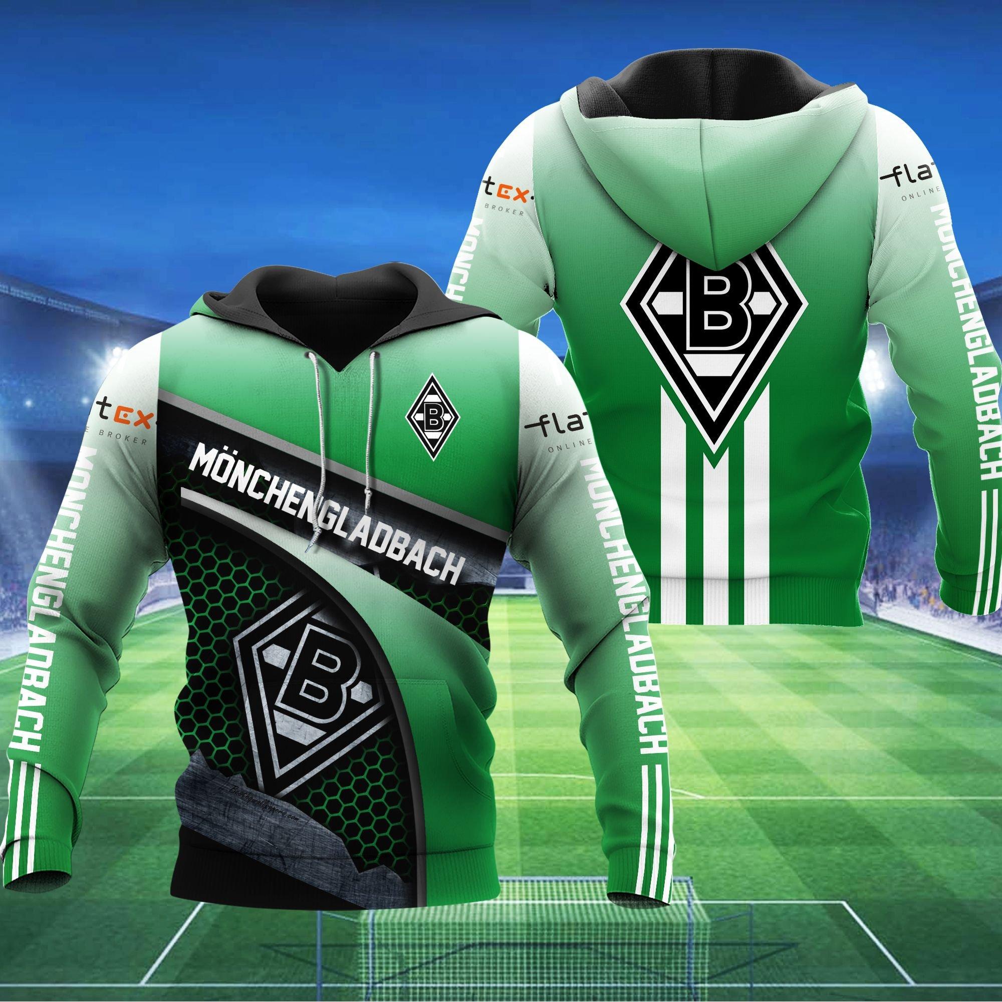 Monchengl Adbach BoM 3D hoodie