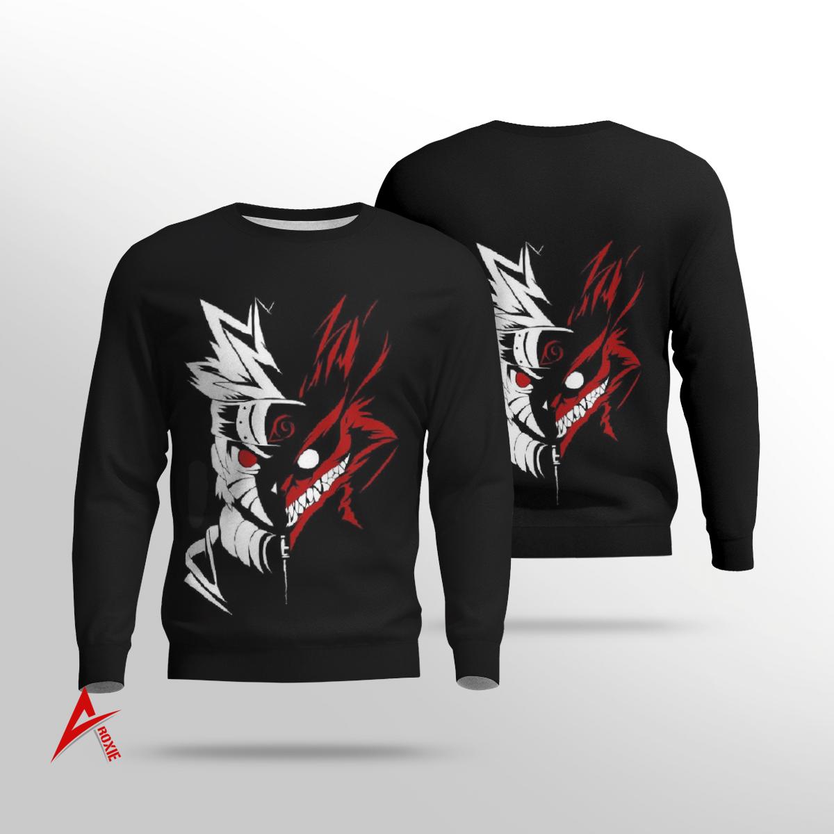Naruto Kurama nine tailed fox 3D Shirt