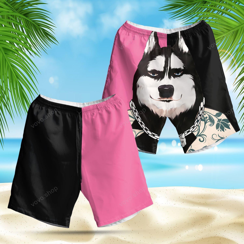 Cool Husky New Trendy Hawaiian Summer Shorts