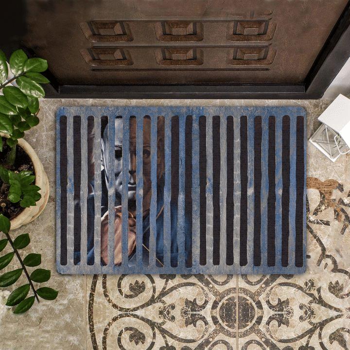 Michael Myers Halloween Movie Doormat