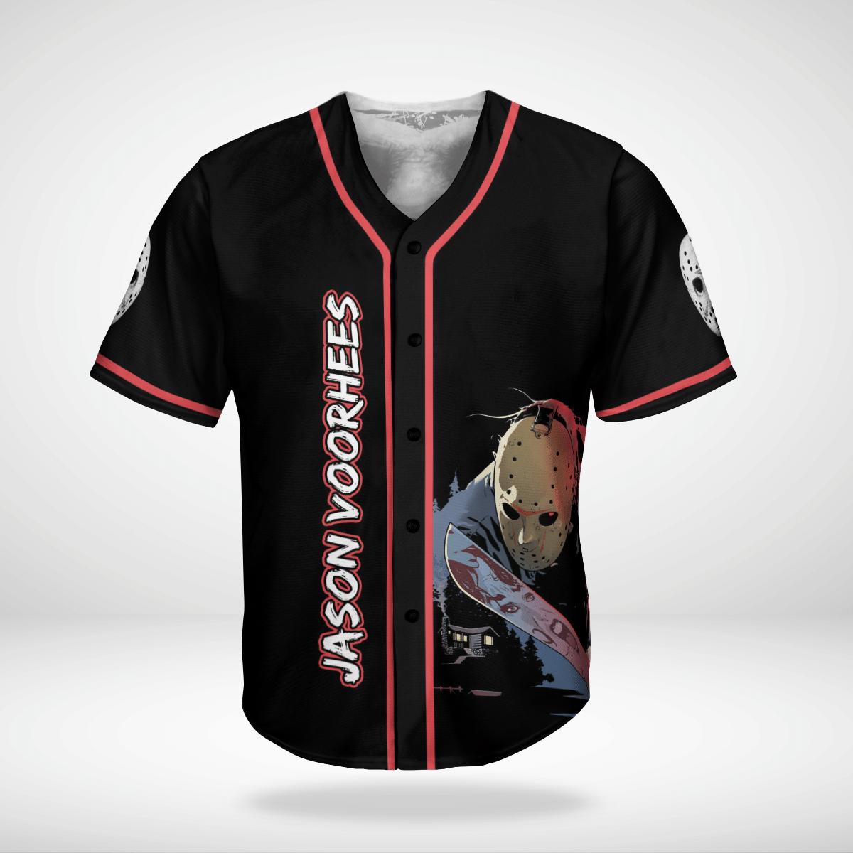 Jason Voorhees Halloween killer Jersey Shirt