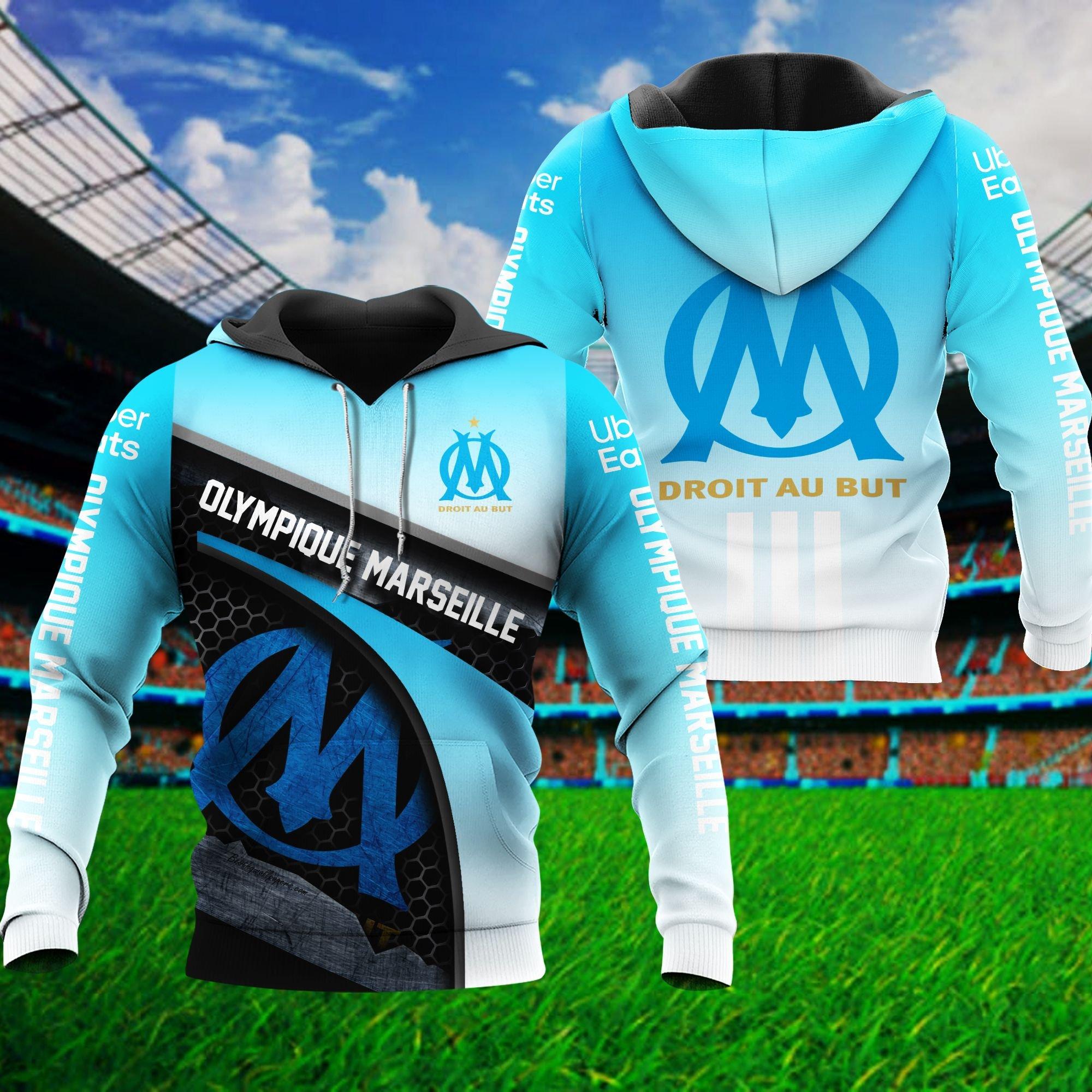 Olympique Marseille Hoodie 3D