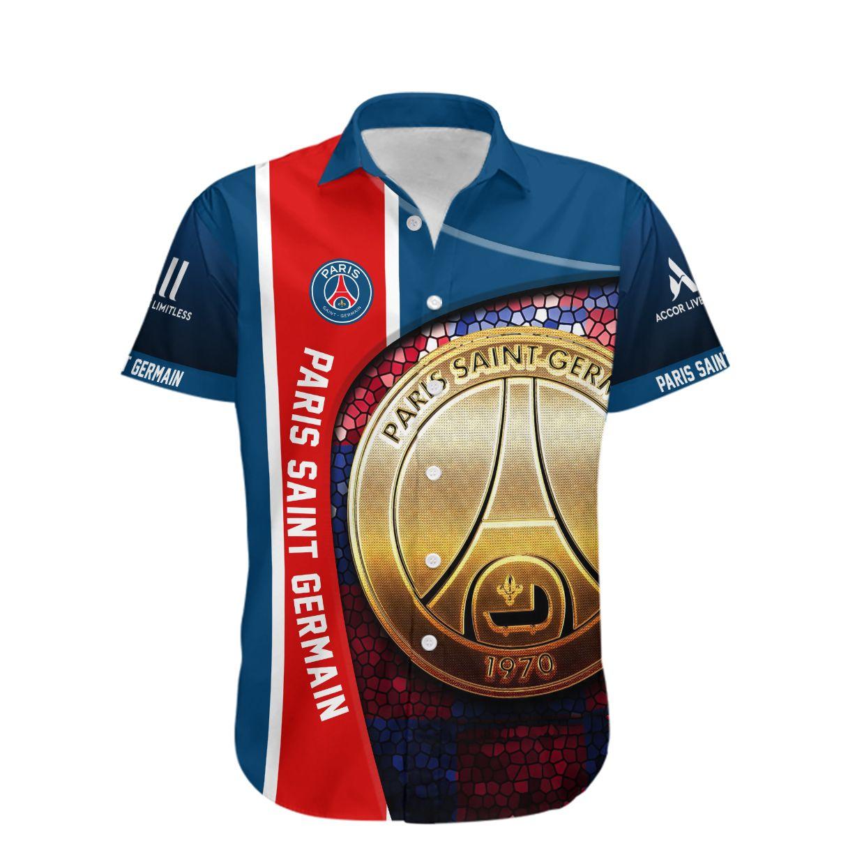 Paris Saint Germain Les Parisiens Hawaiian Shirt