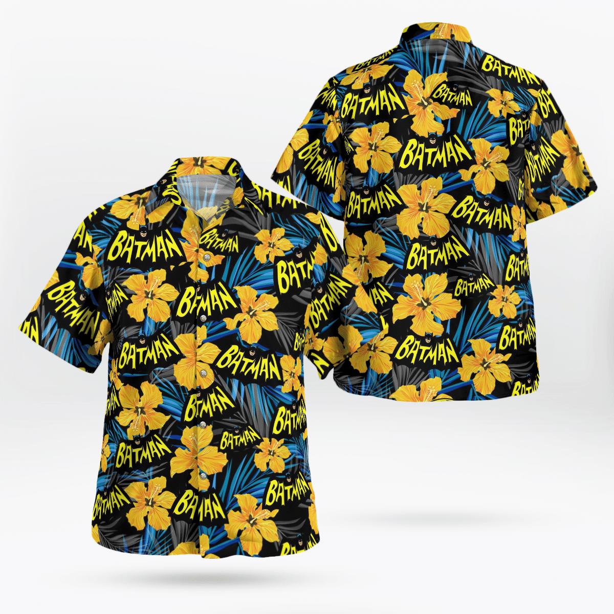 Batman Flower 1966 Hawaiian Shirt