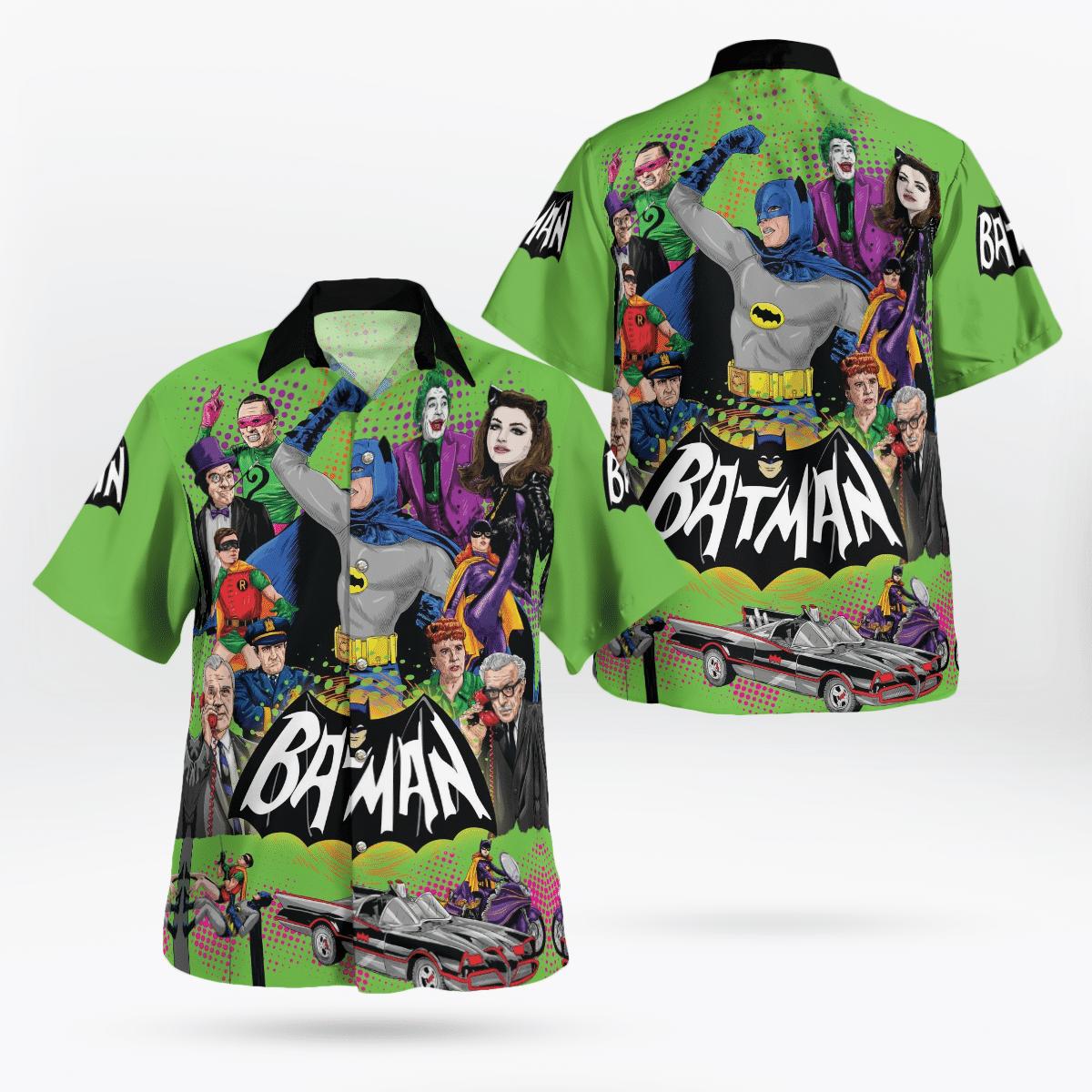 Batman 1966 All Characters Hawaiian Shirt