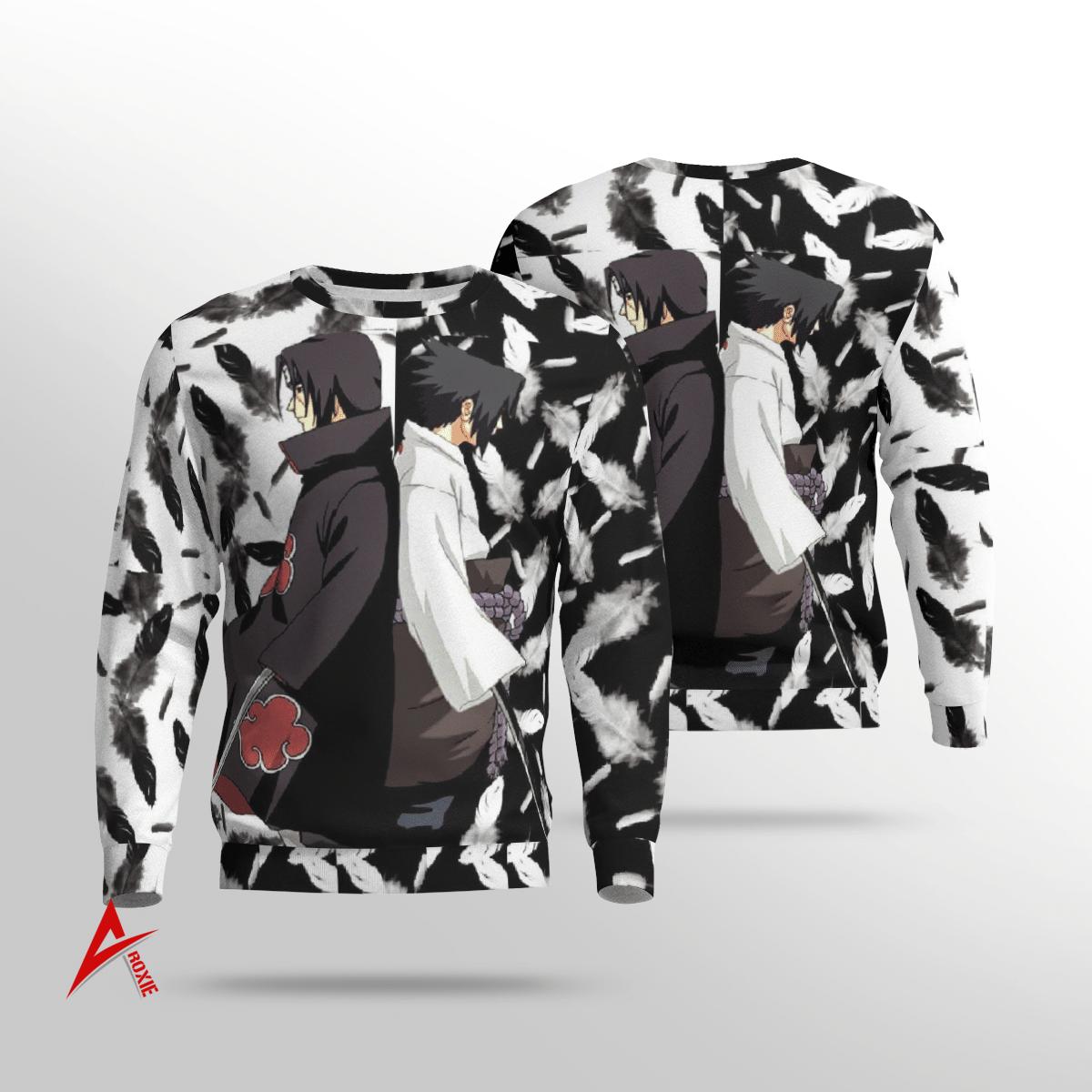 Itachi vs Sasuke Sweatshirt 3D